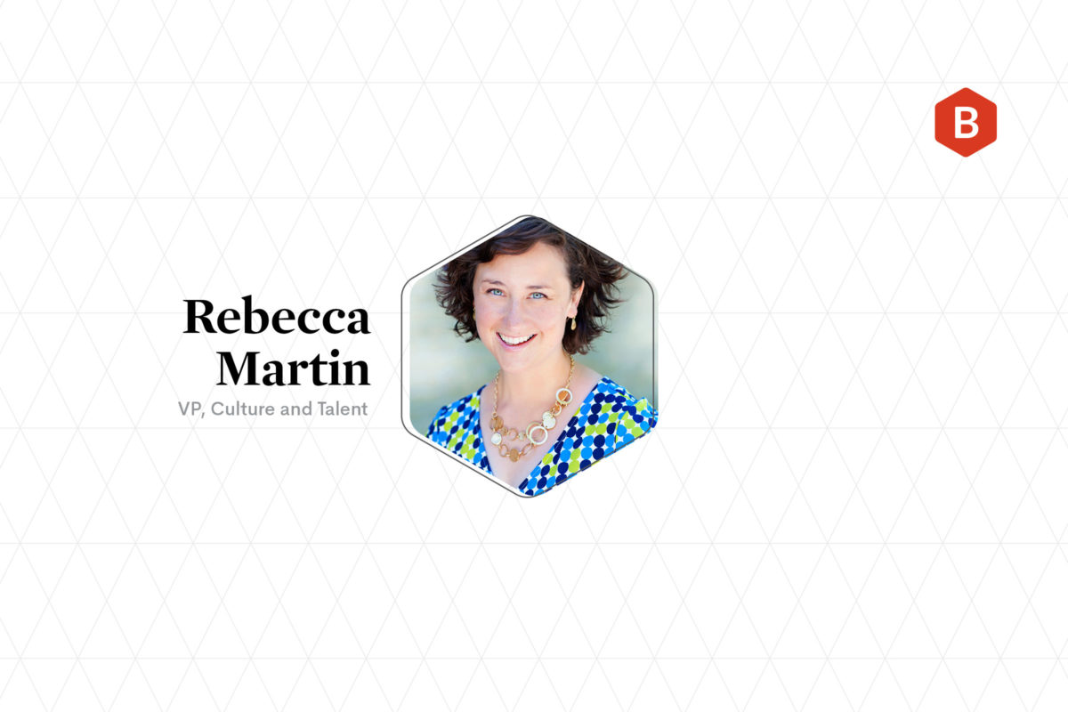Photo Rebecca Martin, Beehive VP, Culture and Talent